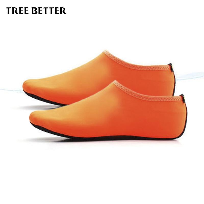 Antypoślizgowe miękkie skarpetki męskie Kobiety Oddychające buty - Sporty wodne - Zdjęcie 2
