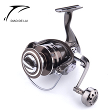 High - End Gift Reels 13+1BB Full Metal Aluminum Body 2000 - 7000 Fishing Spinning Reel Sea Pole Wheel Carretilha De Pesca