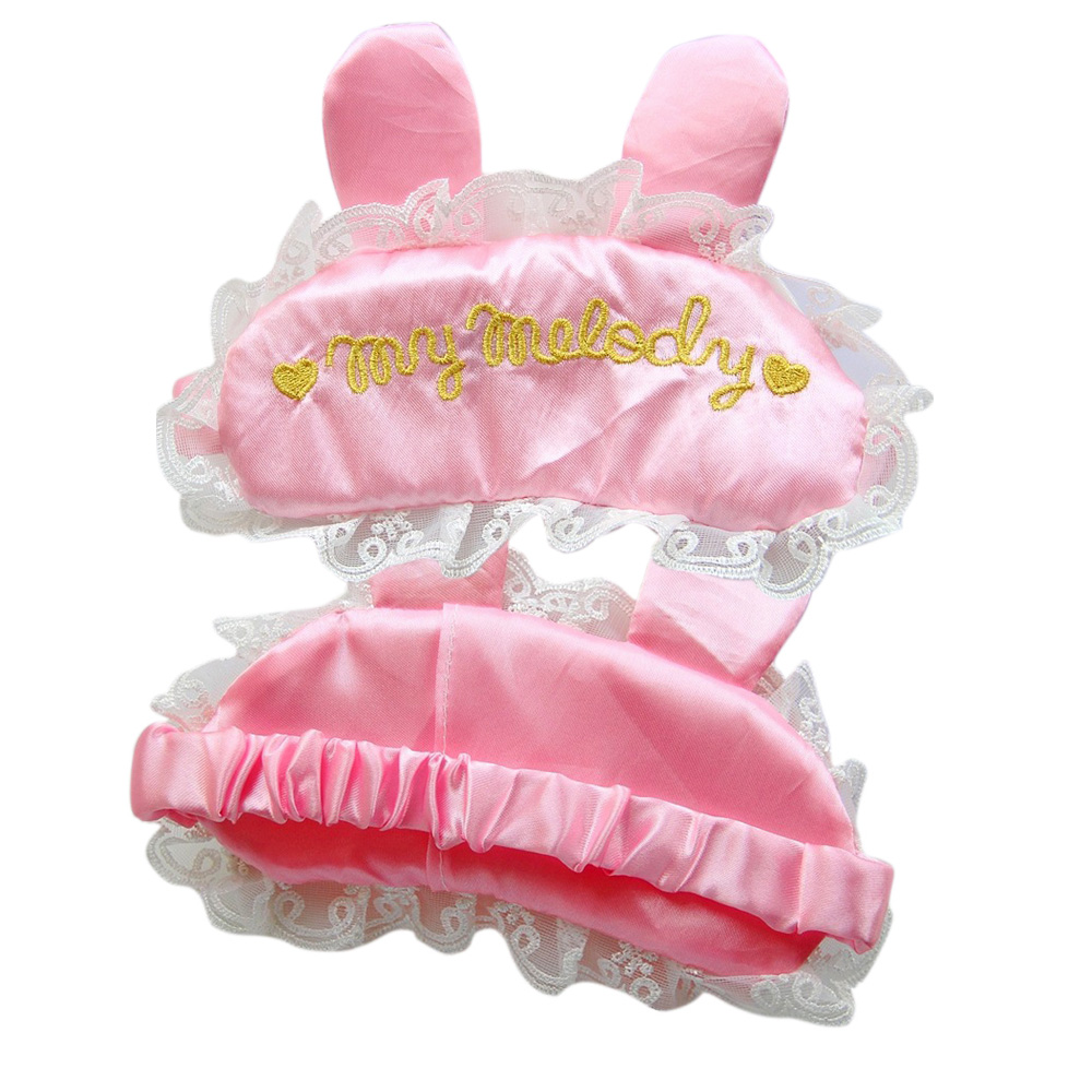 Adult Baby Sissy Pink Satin abdl ddlg Eye Mask Shade Cover
