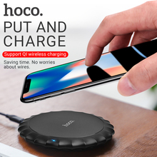 hoco wireless charger for apple iphone samsung xiaomi phones charging pad portable desktop adapter wireless mat charging base