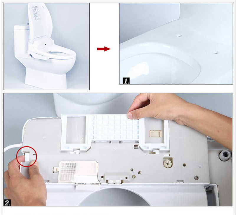 Detail Feedback Questions About Panel Control Smart Toilette Shower