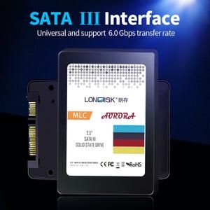 Image 2 - LONDISK SSD 5 قطعة/الحزمة SATA 3.0 hdd ssd أقراص بحالة صلبة داخلية 120GB/240GB/480GB/960GB القرص الصلب SSD 2.5 للكمبيوتر