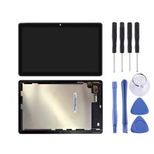 Novo para huawei mediapad t3 10 / AGS-L03 / AGS-L09 / AGS-W09 tela lcd e digitador assembléia completa reparação pa (preto)