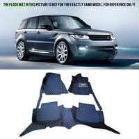 Car Accessories Front & Rear Floor Mats & Carpets Foot Pad Covers For Land Rover Range Rover Sport 2008 2016