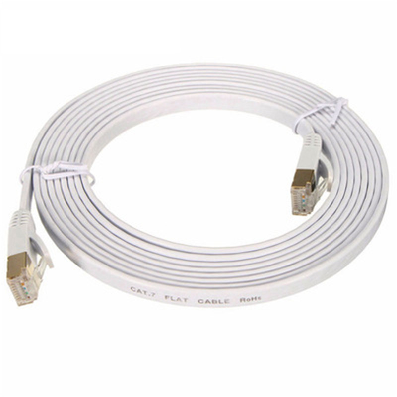 Category 6 network cable flat cable Copper twisted pair high speed flat network jumper YXJ006