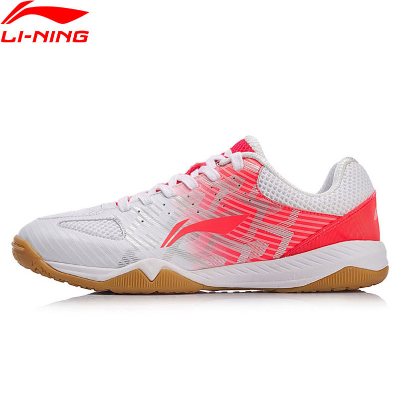 Li Ning Women EVOLUTION Table Tennis Shoes National Team Sponsor Breathable LiNing Sport Shoes Wearable Sneakers