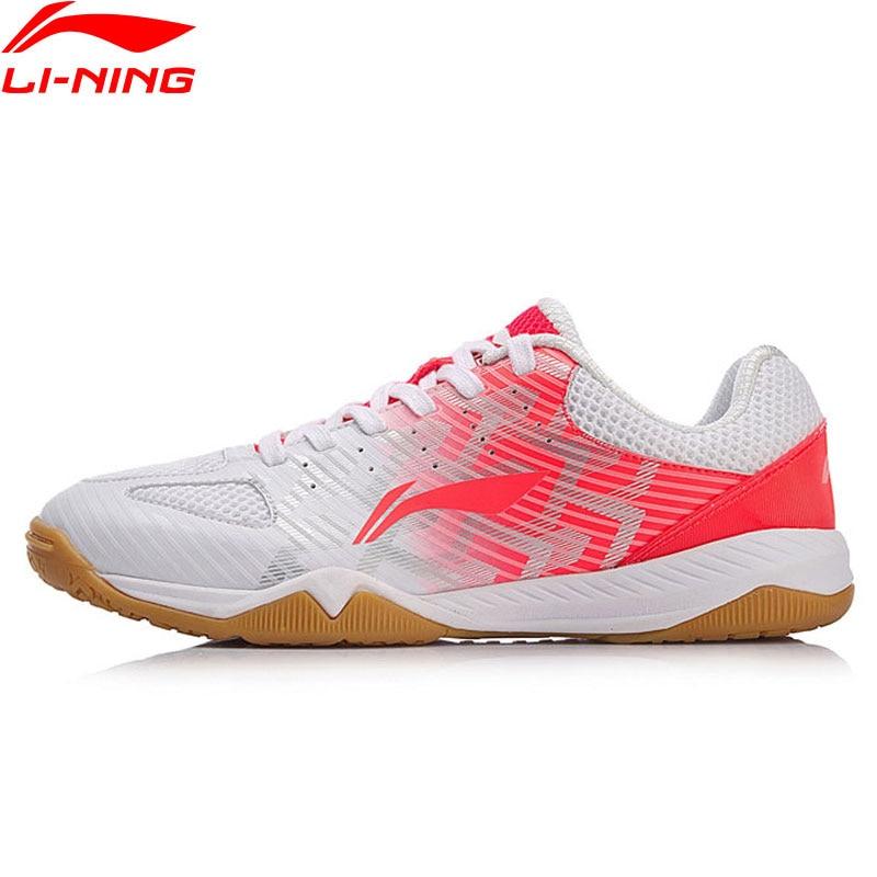 (Break Code)Li-Ning Women EVOLUTION Table Tennis Shoes National Team Sponsor LiNing Li Ning Sport Shoes Wearable APPM004 YXT019