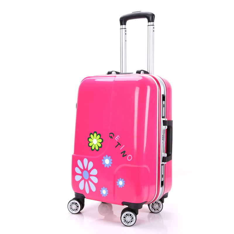2024 Inch PC+ABS Aluminum frame Travel Luggage Suitcase Bag Business Trolley Wheel Rolling High Quality Spinner Traveling Case