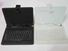 Free shipping Leather Case Keyboard for 7 7 inch Tablet PC Android MID cases for tablets