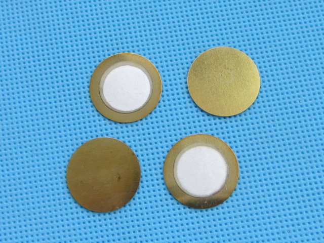 5PCS 20mm Piezo Elements Sounder Sensor Trigger Drum Disc 6.5KHZ wire copper