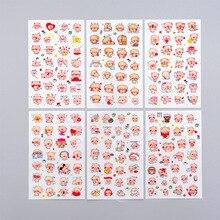 Stickers Stationery Scrapbooking Label Kawaii Cat Dog-Decoration School-Supplies Gift