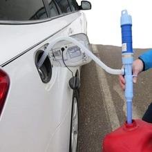Auto Öl Extractor Elektrische Pumpen Rohr Öl Sauger Pumpe trocken Batterie Manuelle Wasser Ändern Öler Selbst fahren Outdoor Tool teile
