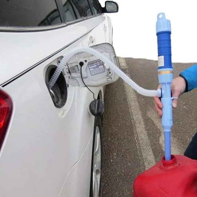 รถน้ำมัน Extractor ไฟฟ้าปั๊มท่อน้ำมัน Sucker ปั๊มแบตเตอรี่แห้งคู่มือน้ำเปลี่ยน Oiler ด้วยตนเองเครื่องมือกลางแจ้งอะไหล่