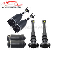 Front Rear Air Suspension Shock Strut w/ Air Spring Bags for Mercedes Benz GL Class W164 Airmatic without ADS Pneumatic Damper