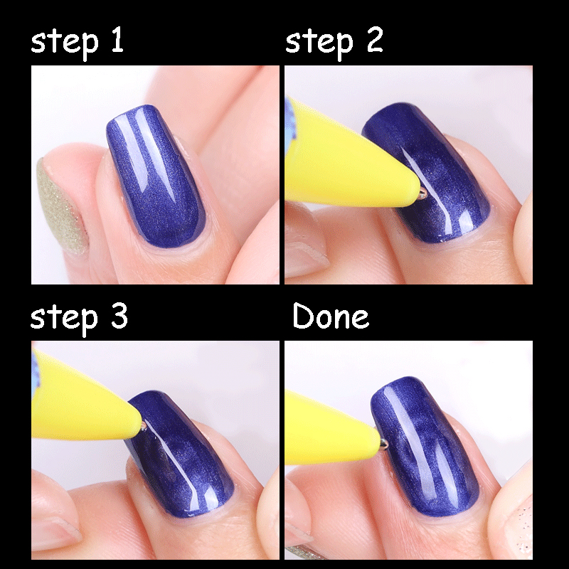 Aliexpress Nail Art Mag Stick For Cat Eye Uv Gel Polish 3d Line Strip Image Magical Effect Paint Drawing Builder Strong Magic Diy Pen From