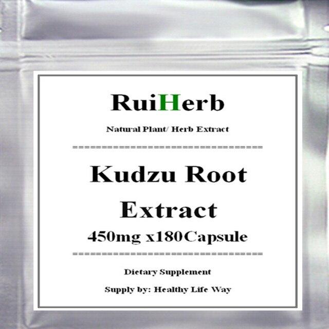 1 Pack Kudzu Экстракт Корня Капсулы 450 мг х 180 шт. бесплатная доставка