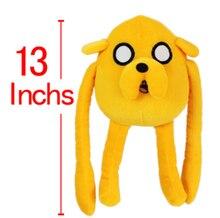Приключения время джейк 33 см плюшевые игрушки финн друг джейк плюшевые куклы