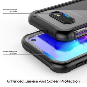 Image 5 - מלא גוף הגנת טלפון מקרה לסמסונג גלקסי S8 S9 S10 S10e S10 בתוספת הערה 9 ברור עמיד הלם כיסוי עם מסך מגן