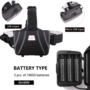 Image 5 - Siêu Sáng XHP70.2 USB Sạc Đèn LED XHP70 Nhất Mạnh MẽKhông Đèn Pha Câu Cá Cắm Trại Zoom Đèn Pin 3 * Pin 18650