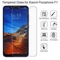 2 шт. Защитное стекло для Xiaomi Pocophone F1 защита экрана закаленное стекло для Xiaomi Pocophone F1 пленка для Poco F1 стекло