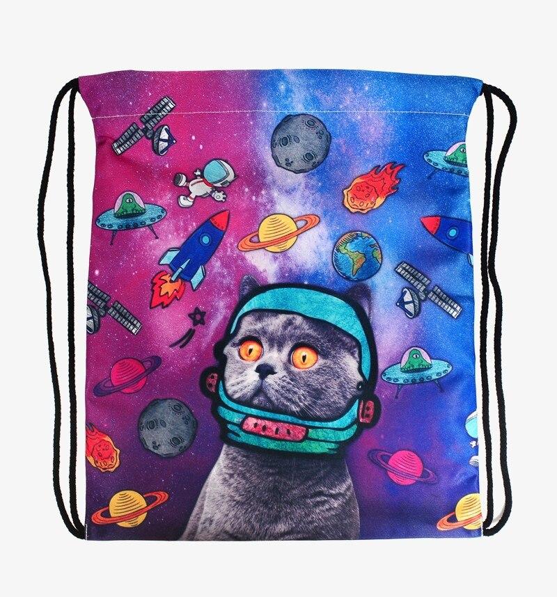 escapar do gato 3d impressão Girl Backpack : Branch Backpack