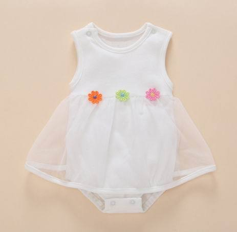 93379c64e508 Born Baby Girls Dress clothes Summer Kids Party Birthday Outfits 1 ...