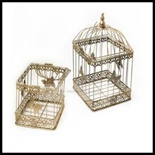1PCS European iron decorative birdcage wedding window ornaments photography props balcony decoration