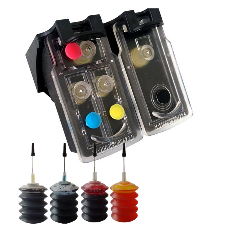 Refillable Ink Cartridge replacement For Canon PG 40 41 Pixma iP2500 iP2600 iP1800 iP1900 MP190 Printer PG 40 CL 41