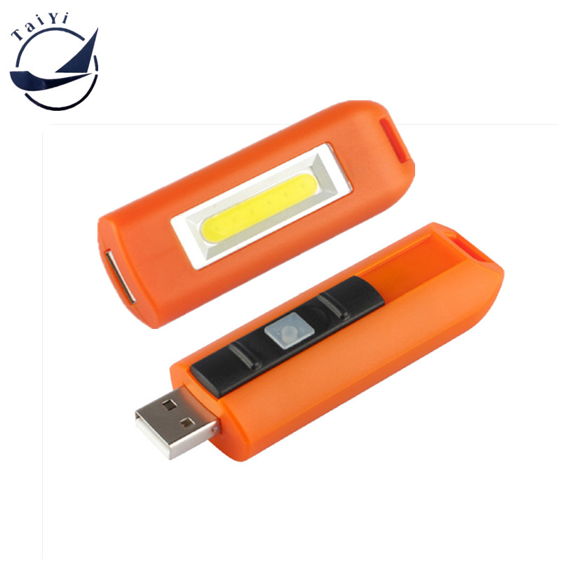 TAIYI USB रिचार्जेबल मिनी इमरजेंसी लाइट (बैटरी शामिल)