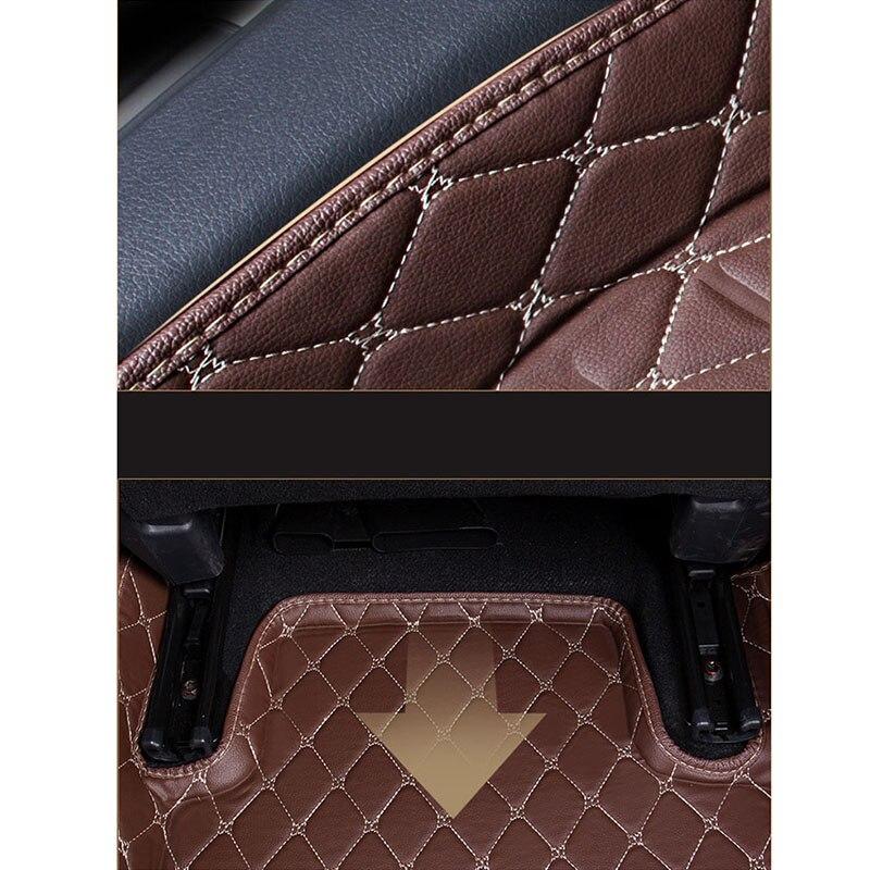 WLMWL tapis de sol de voiture pour Mitsubishi ASX éblouir lancer pajero sport pajero outlander tous les modèles - 3