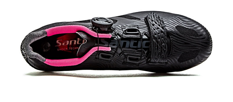 Knit cycling shoes