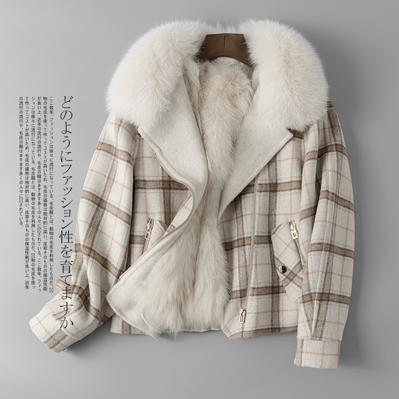 Hiver Réel Renard 2018 Zt1261 Veste Manteau De blue Beige Femme Automne Femelle Coréen Fourrure Femmes Doublure Vêtements Parka Vintage En Br8rOqITw