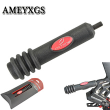 1pc 5inch Compound Bow 15cm Stabilizer Shock Silencer Rubber Damper Absorption Hunting Shooting Archery Accessories