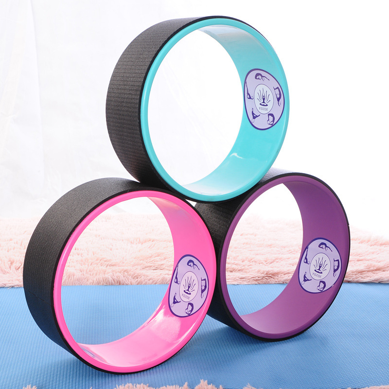 Environmentally Friendly Natural Rubber Yoga Wheel Resin Dharma Round Back Bend Artifact Yoga Circle circle