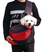 Pet Sling Carrier for Dogs Cats Breathable Mesh Travel Single Shoulder Bag for Puppies Small Dogs Outdoor Pet Products S L Size