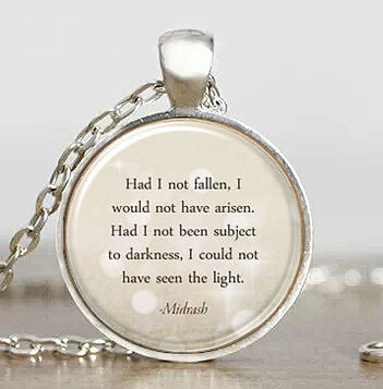 Steampunk inspirational quote midrash hebrew motivational pendant steampunk inspirational quote midrash hebrew motivational pendant necklace 1pcslot mens handmade jewelry dr who chain glass toy in pendant necklaces from aloadofball Choice Image