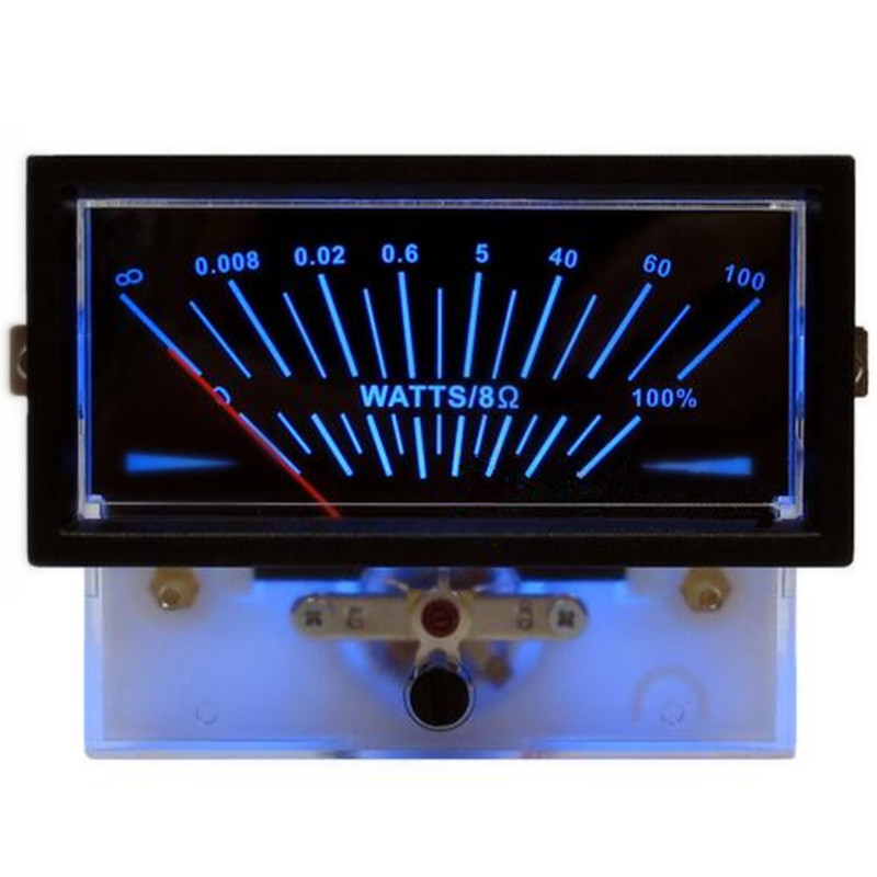 V-003 VU Meter Audio Console DB Meter DAC Power Amplifier Level indicator Peak Meter Sound Pressure with Backlight vu meter db level header amplifier chassis audio preamp backlight p 59wtc