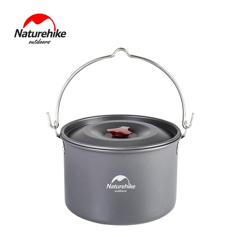 Batterie de cuisine extérieure 4-6 personnes naturetrek 4L ustensiles de cuisine pour Camping pique-nique set Pot