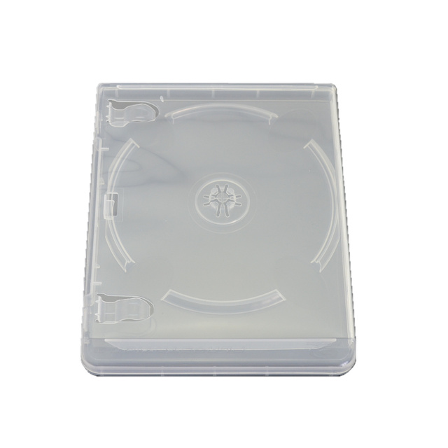 10pcs สำหรับ PlayStation CD กล่องเคสสำหรับ PS3 โปร่งใสสีขาว