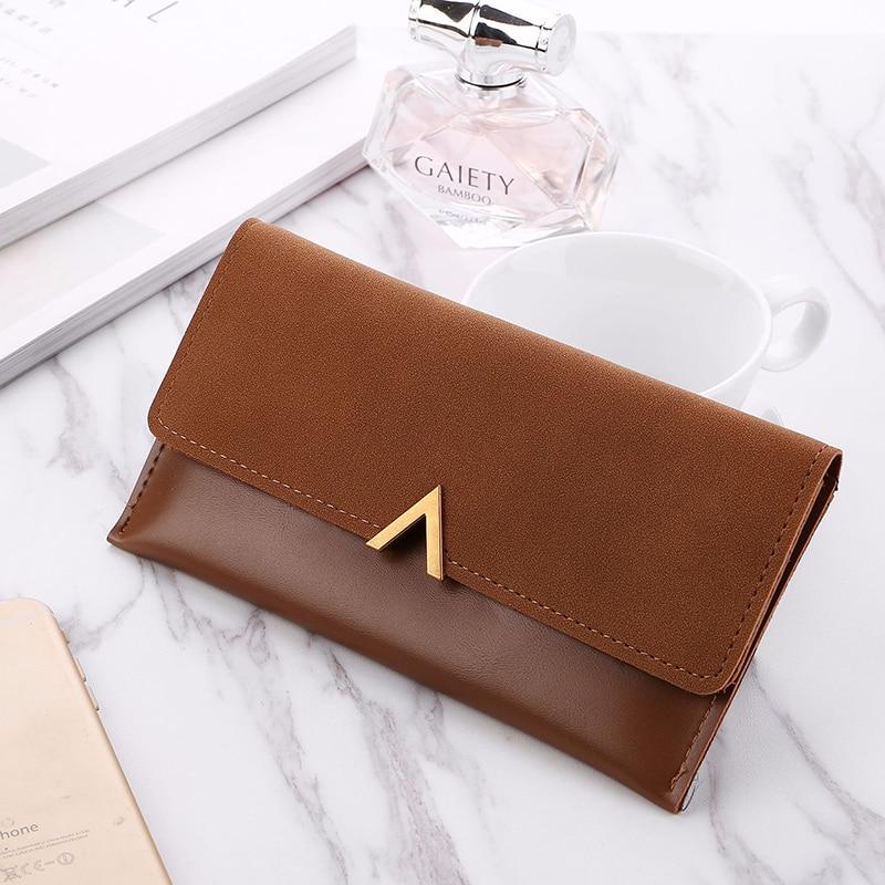 Long Wallet Ladies Wallet Purse Card Bag Clutch Bag PU Leather Wallet Female High Quality кашелек для денег женский