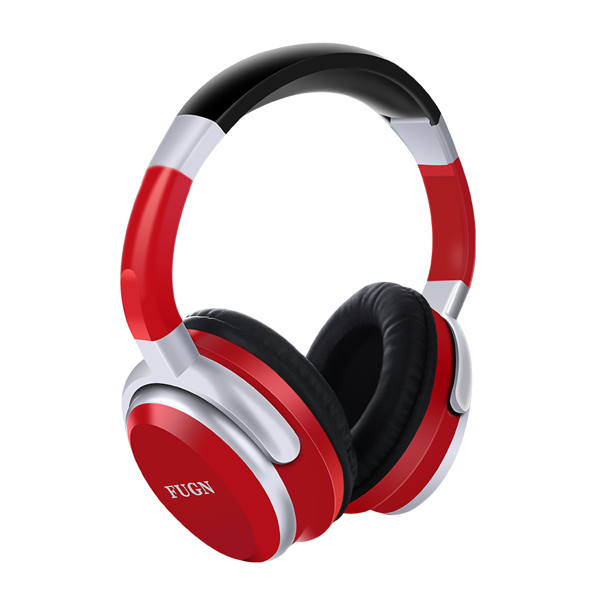 Memories Music Bluetooth headphone sport New with microphone Support TF card FM radio best headphone wireless red black