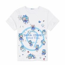 Anime Touhou Projekt T-shirt Cirno Saigyouji Yuyuko Hakurei Reimu Cosplay T-shirt Kurzarm T-stücke