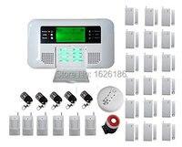 Yobang Sécurité GSM Alarme Sans Fil GSM PSTN Systèmes D'alarme de Sécurité Maison alarma Preset 3 numéros SMS 6 Numéro de Téléphone