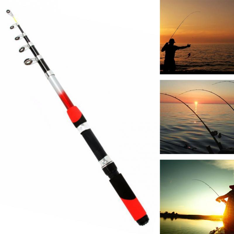Portable Telescopic Fishing Rod for Sea Fishing with exquisite reel seat and Stainless Steel Guides 3