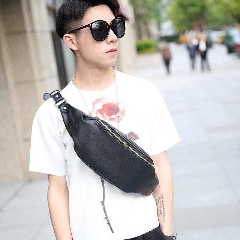 BRAND NEW PU Leather Fanny Pack Cell Phone Belt Bag Fashion Waist Bag Women