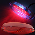 New Arrival 1PCS ATV Quads Street Motorcycle 28 LED Tail Brake Light License Plate Light Stoplight Red Cover Free Shipping