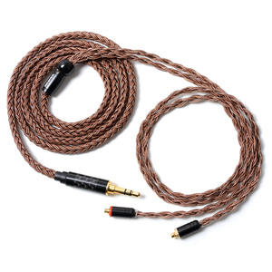 Image 4 - Nicehck cabo de fone de ouvido em cobre, cabo de fone de ouvido de alta pureza, 16 núcleo, conector mmcx/2 pinos para tfz, 3.5/2.5/4.4mm trnv90 zsx ccac12 nicehck f3/nx7 pro/db3