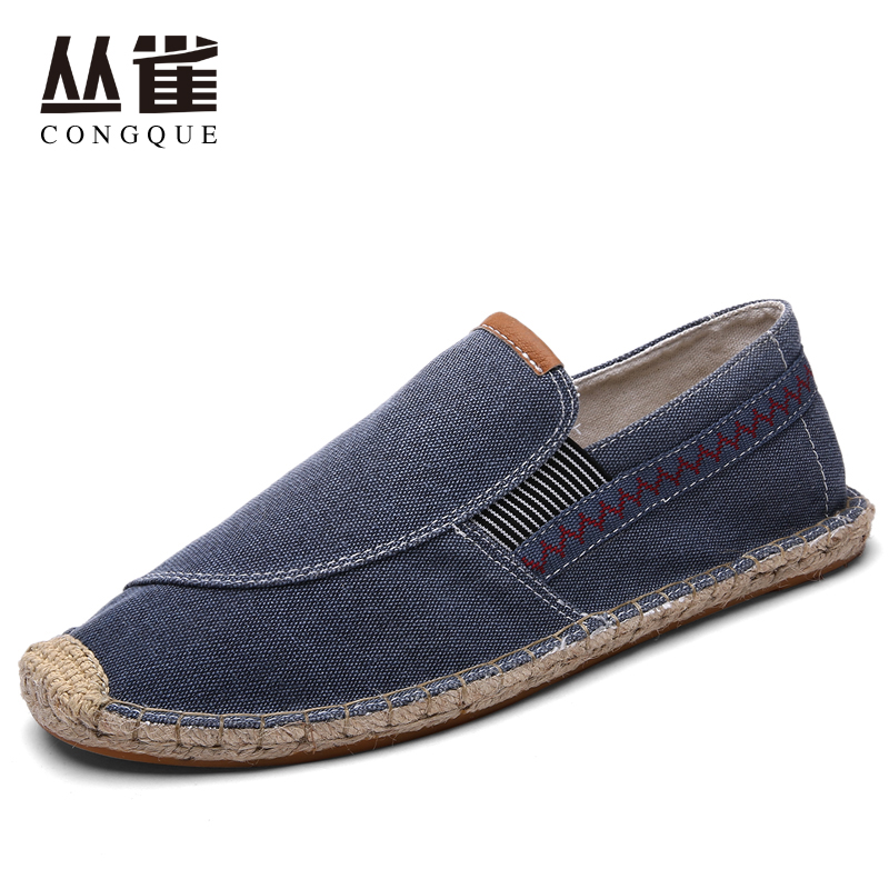 Free Shipping Summer Superstar Round Toe Flats Espadrilles Men Fisherman Shoes Male Casual Sandals Chaussure Los