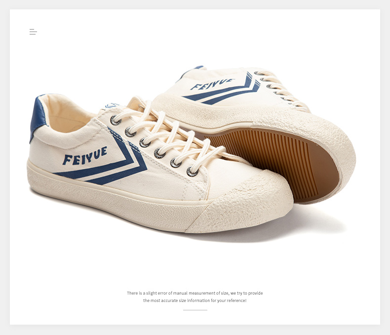 Feiyue shoes New classic Martial arts Tai Chi canvas shoes Rubber shoes men women sneakers 14