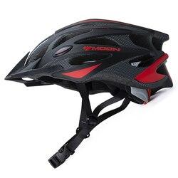2018 nowy księżyc jazda na rowerze kask Ultralight tani rower kask w formie MTB kask rowerowy Casco Ciclismo górskich drogach kask sprzedaż
